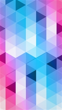 Colorful Triangles iPhone 5s wallpaper
