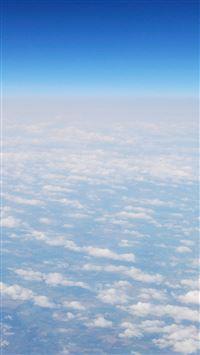 Clouds Sky Atmosphere  iPhone 5s wallpaper