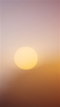 Pure Clean Sun At Dawn iPhone 5s wallpaper