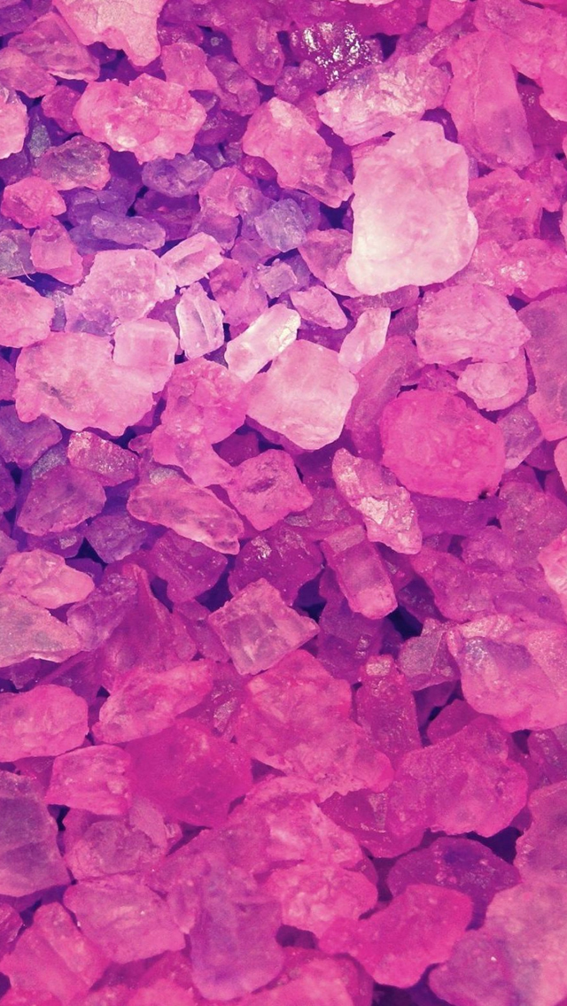 Pink Crystals Iphone Wallpapers Free Download