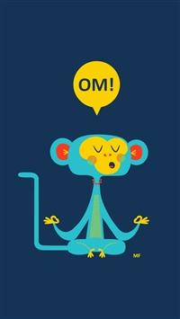 Familiar Om Mono iPhone 5s wallpaper