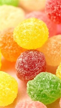 Colorful Cute Candy iPhone 5s wallpaper