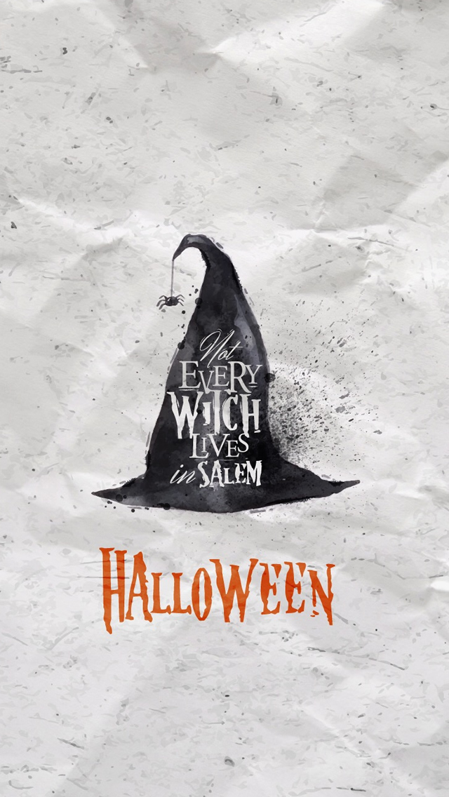 Halloween Witch Hat Iphone Wallpapers Free Download