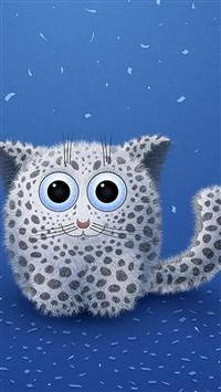 Cute Cat Cartoon iPhone 5s wallpaper
