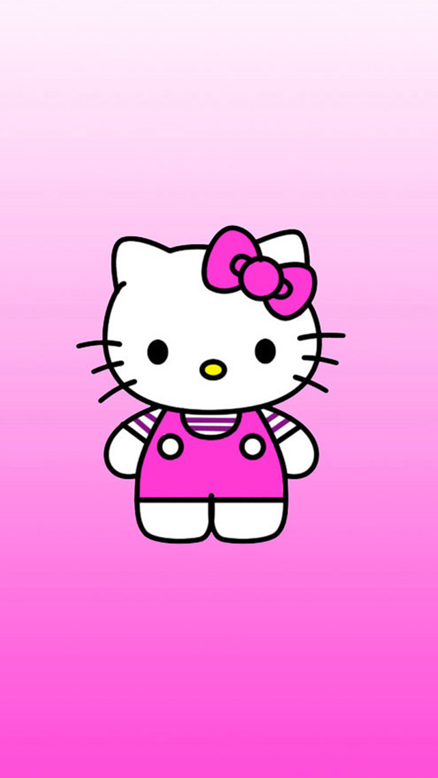 Cute Hello Kitty Cartoon Iphone Wallpapers Free Download