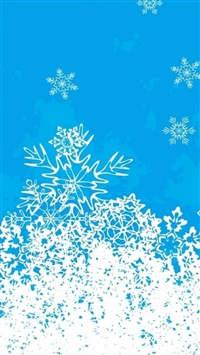 Abstract Christmas Snowflake Pattern Background iphone wallpaper ilikewallpaper com 200