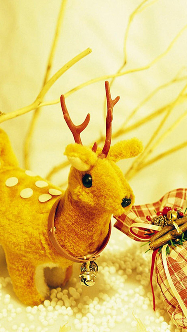 Christmas Reindeer Presents iphone wallpaper ilikewallpaper com