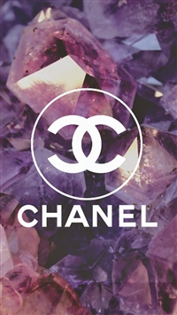 Coco Chanel Logo Diamonds  iPhone 5s wallpaper