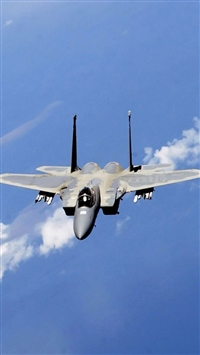 F-15 Eagle Fighter iPhone 5s wallpaper