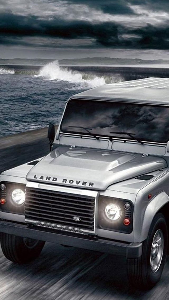 Land Rover Defender iPhone wallpaper