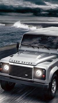 Land Rover Defender iPhone 5s wallpaper
