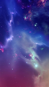 Outer Space Starry Nebula iPhone 5s wallpaper