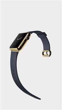 Golden Apple Watch Elegant Art iPhone 5s wallpaper
