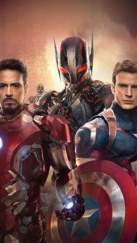 Avengers Poster Age Of Ultron Art Film iPhone 5s wallpaper