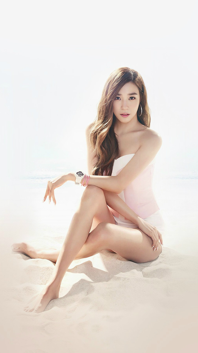 Kpop Girls' Generation Tiffany Sexy Music Beach iPhone wallpaper