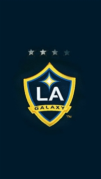 La Galaxy Logo Art Illust iPhone 5s wallpaper