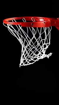 Shoot Basketball Basketry Dark Background iPhone 5s wallpaper