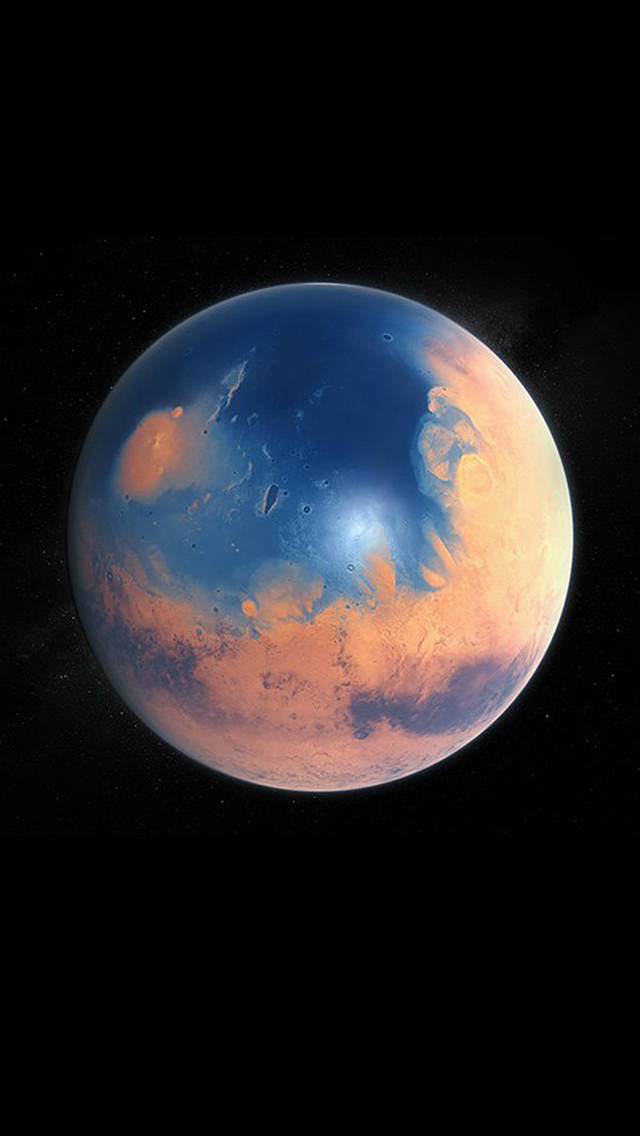 Space Earth Planet Art Illustration Dark iPhone wallpaper
