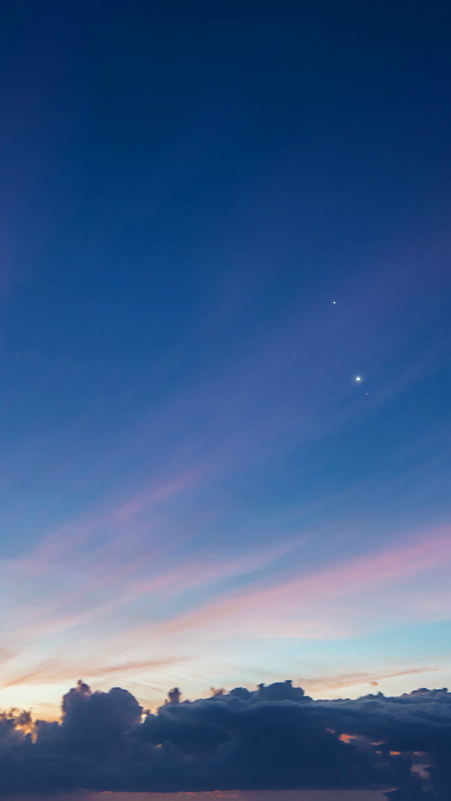 Nature Sky Blue Sunshine Healing Scene iPhone wallpaper