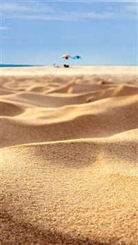 Beach Sand Closeup Holiday iPhone 5s wallpaper