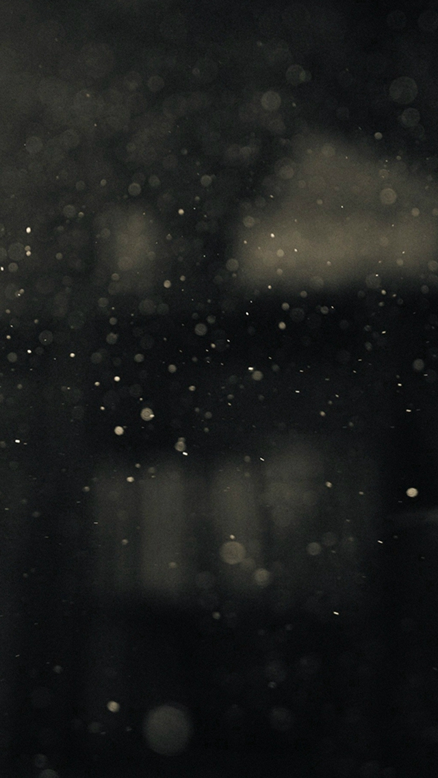 Dark Bubble Bokeh Rain Drops Art iPhone wallpaper