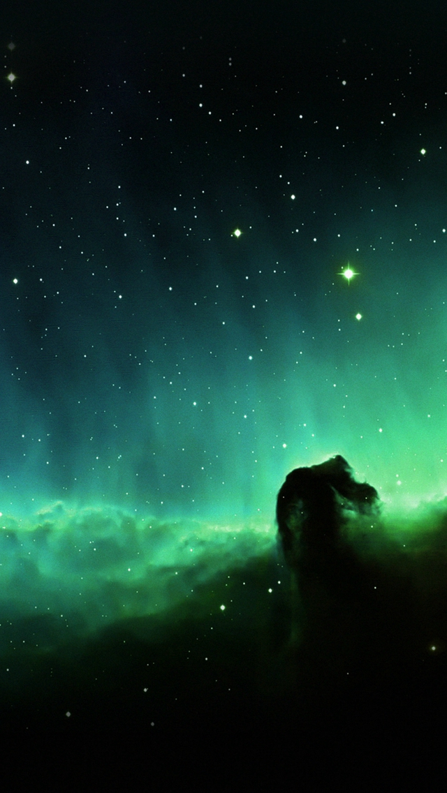 Horse Head Blue Nebula Sky Space Stars Iphone Wallpapers