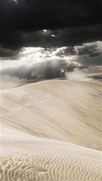 Desert Of Sahara Nature iPhone 5s wallpaper