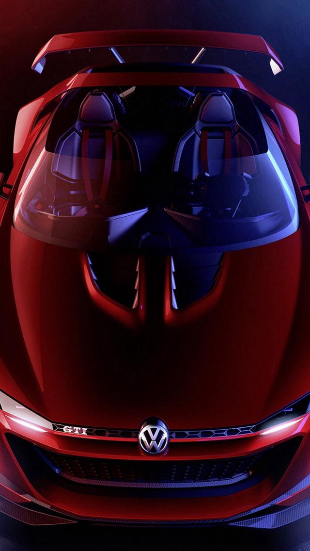 Pretty Volkswagen Gti Roadster Positive Iphone Wallpapers