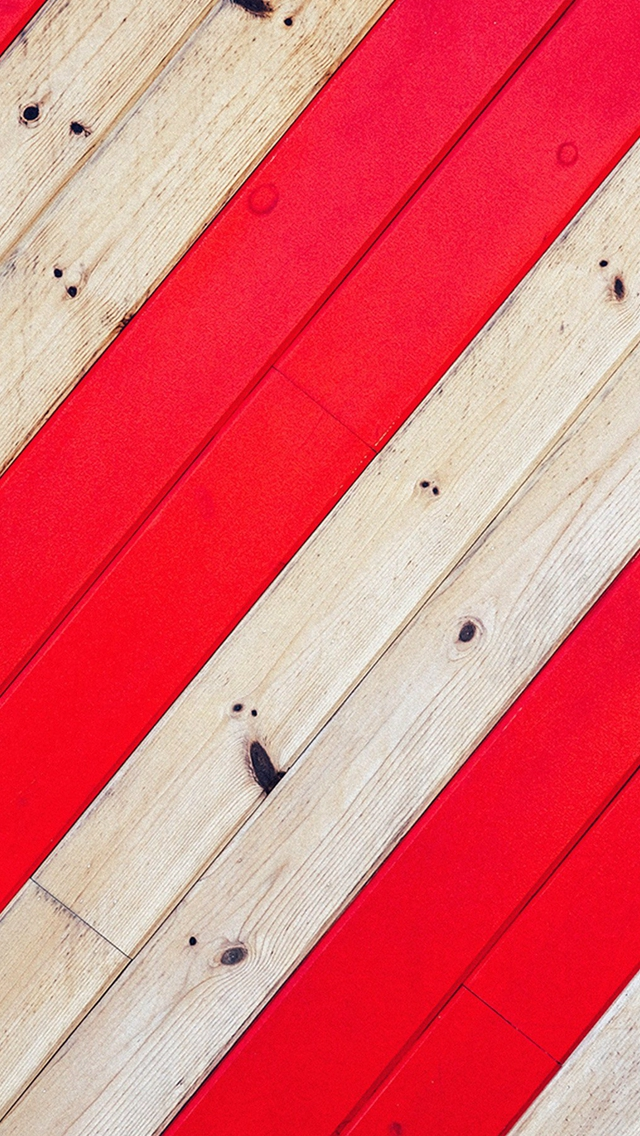 Stripe Red Wood Pattern iPhone wallpaper