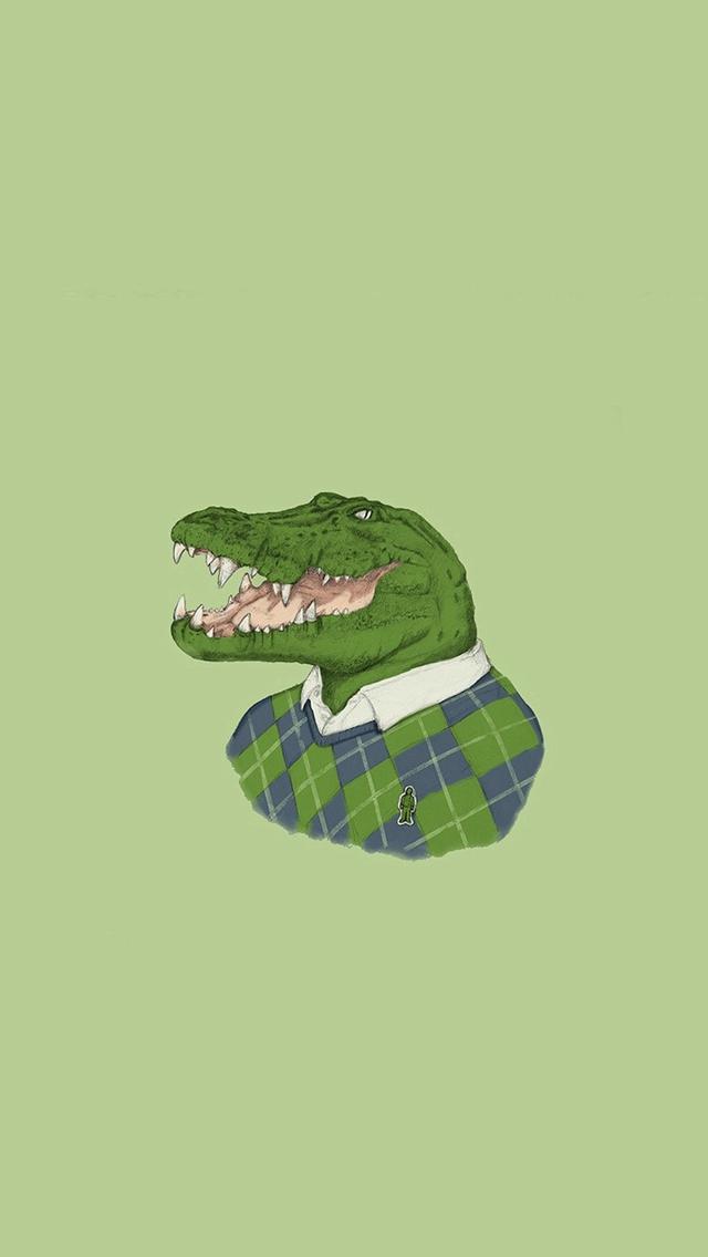 najlepszy przystojny całkiem tania Lacoste Human Animal Minimal Art Illust Green iPhone ...