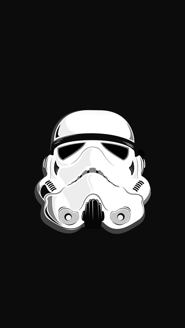 Star Wars Stormtrooper Illustration iPhone wallpaper