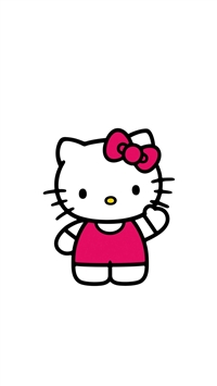 Hello Kitty Art Cute Logo Minimal iPhone 5s wallpaper