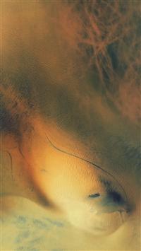 Ios9 Default Still Art Texture Ocean Yellow iPhone 5s wallpaper