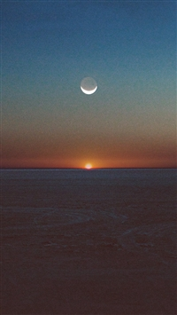 Tycho Spectre Art Music Sunset Dessert Art iPhone 5s wallpaper