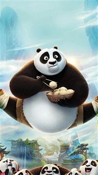 Kungfu Panda Art Illust Film Disney iPhone 5s wallpaper