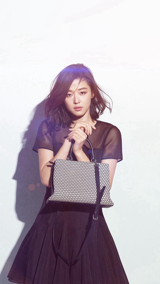 Jun Ji Hyun Actress Kpop Cute Beauty Blue Flare Iphone