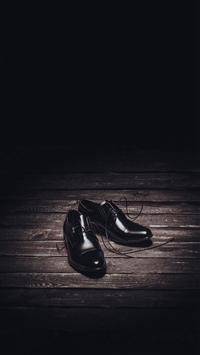 Abstract Dark Shoe Minimal iPhone 5s wallpaper