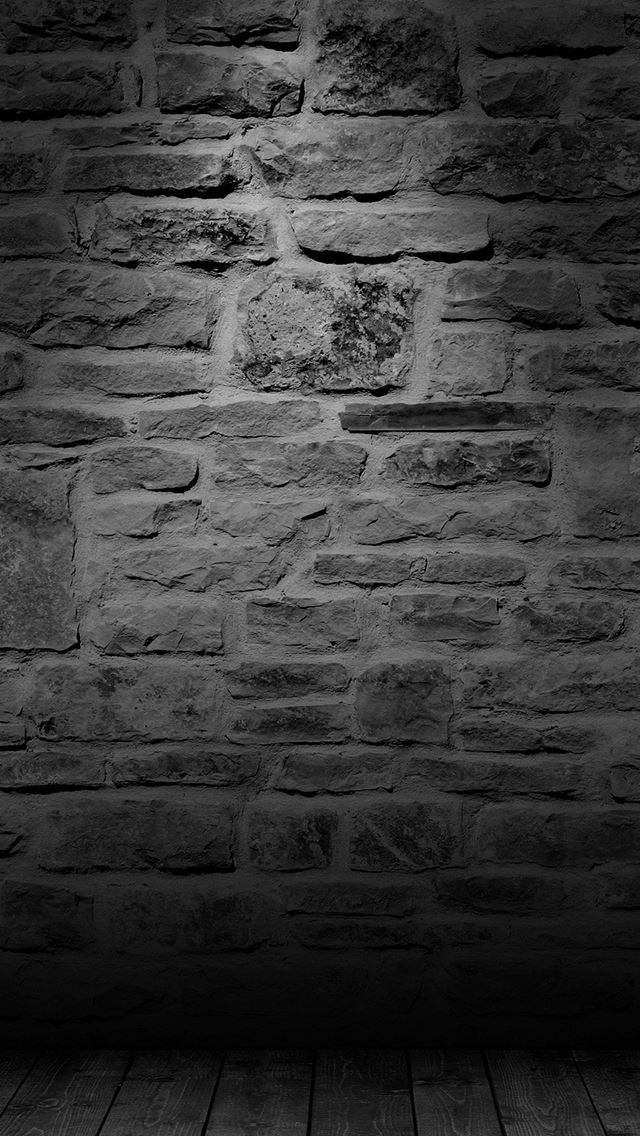 Wall Dark Bw Texture Pattern iPhone wallpaper