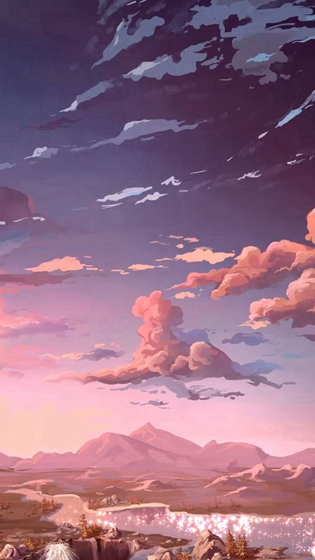 Nature Anime Art Sea Art iPhone wallpaper