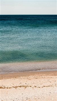 Ocean Sea Beach Green Water iPhone 5s wallpaper