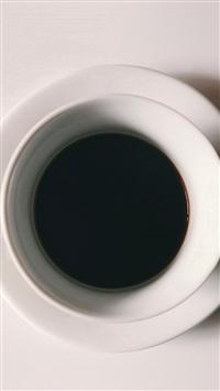 Cup Coffee Simple Minimal Art iPhone 5s wallpaper