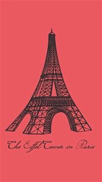Eiffel Tower In Paris iPhone 5s wallpaper