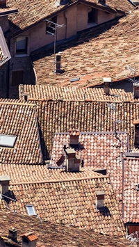 Home Roof Pattern City iPhone 5s wallpaper