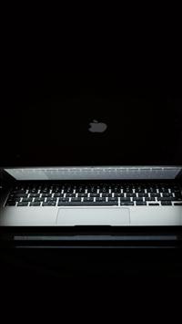 Apple Dark Macbook Notebook Art Illustration iPhone 5s wallpaper