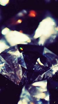 Dark Crystal Diamonds Shiny Macro iPhone 5s wallpaper