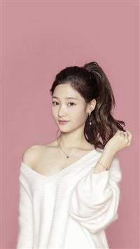 Pink Ioi Chaeyeon Cute Kpop Asian iPhone 5s wallpaper