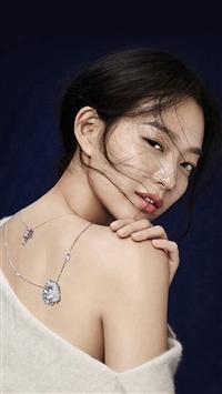 Shin Mina Kpop Girl Model iPhone 5s wallpaper