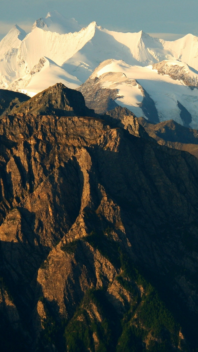 Mountain Alps Switzerland Top iPhone wallpaper