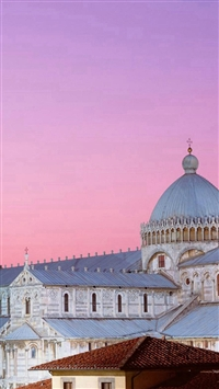The Pisa Cathedral iPhone 5s wallpaper