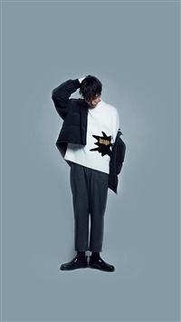 Gdragon Bigbang Young Kpop Boy iPhone 5s wallpaper